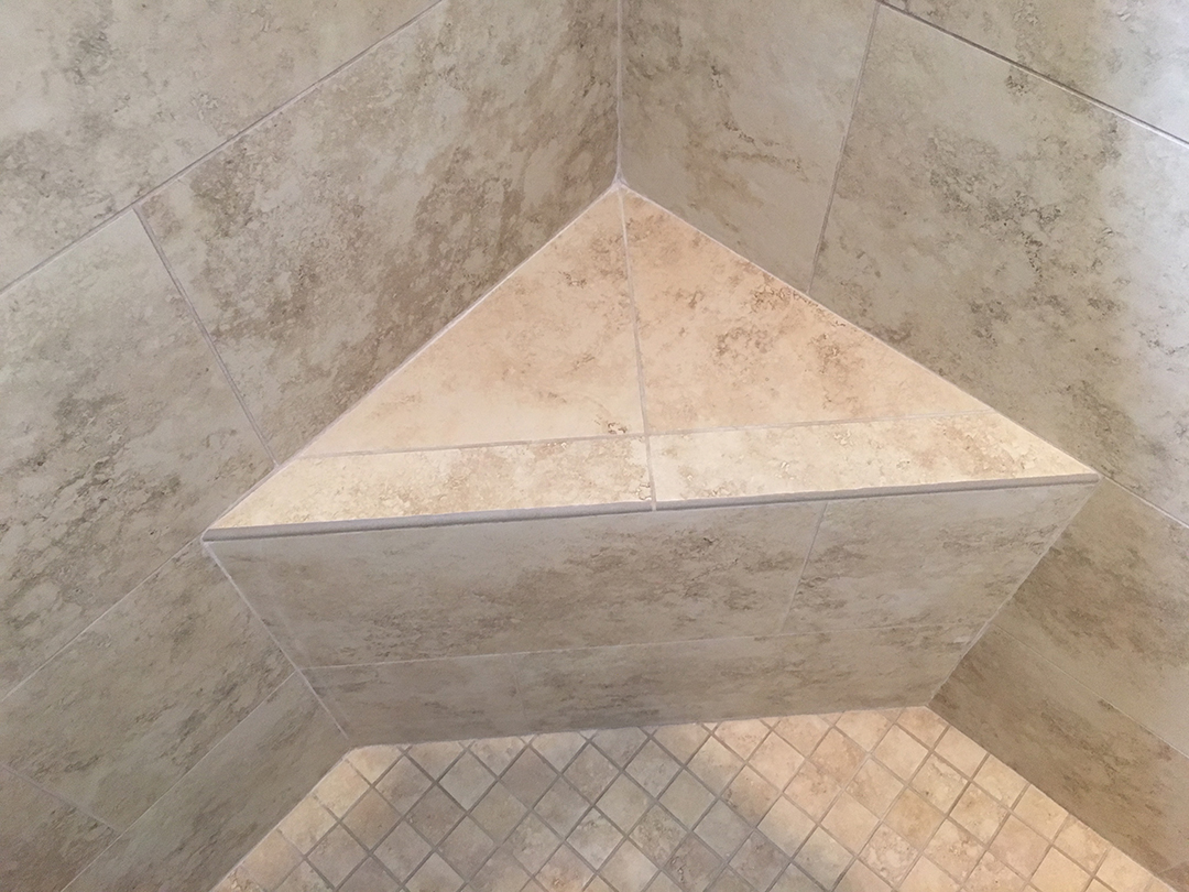 Shower Remodel - Seat